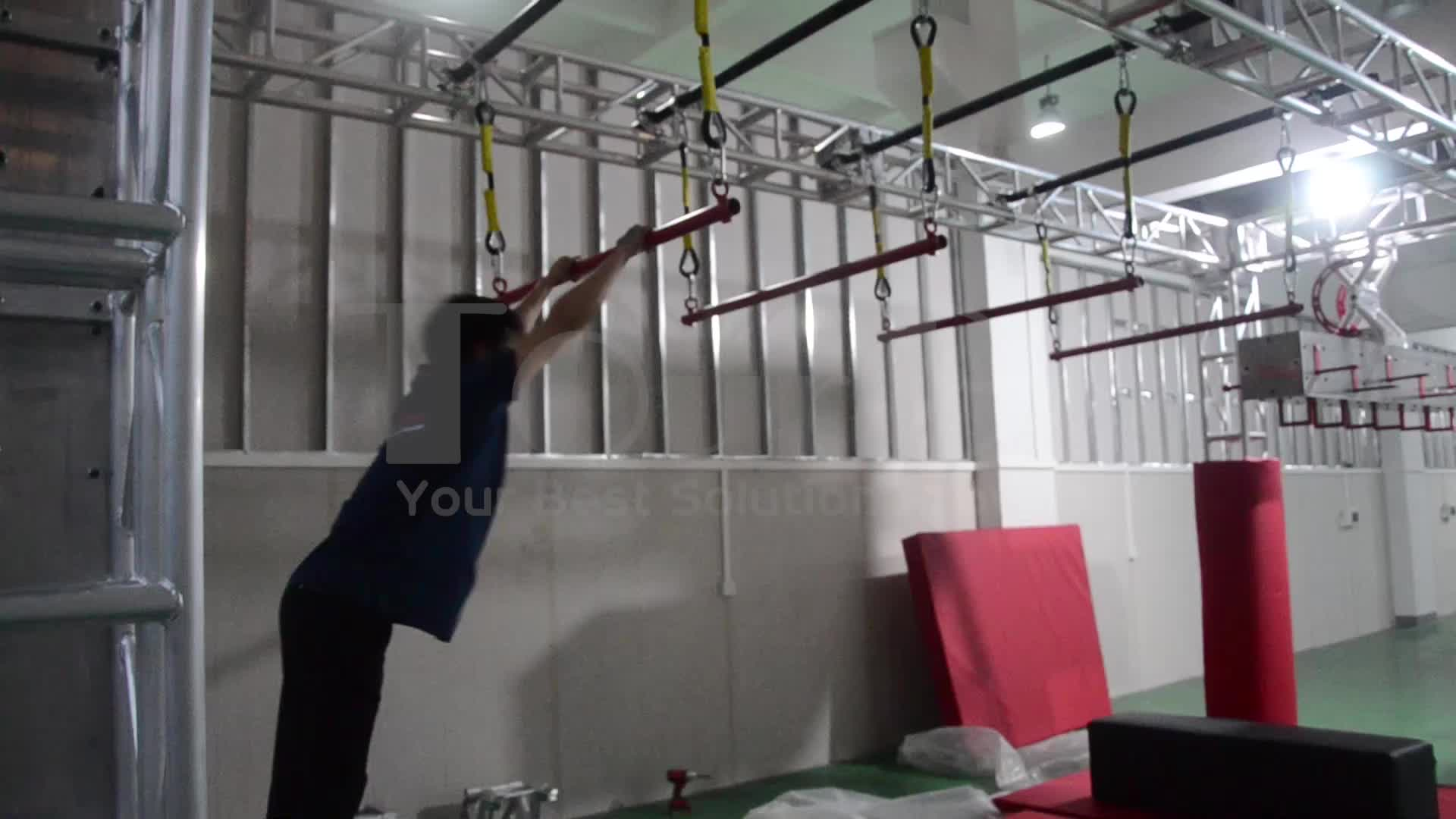 TourGo Ninja Warrior Gym/Ninja Kids Club/Indoor Ninja Warrior Fitness Park