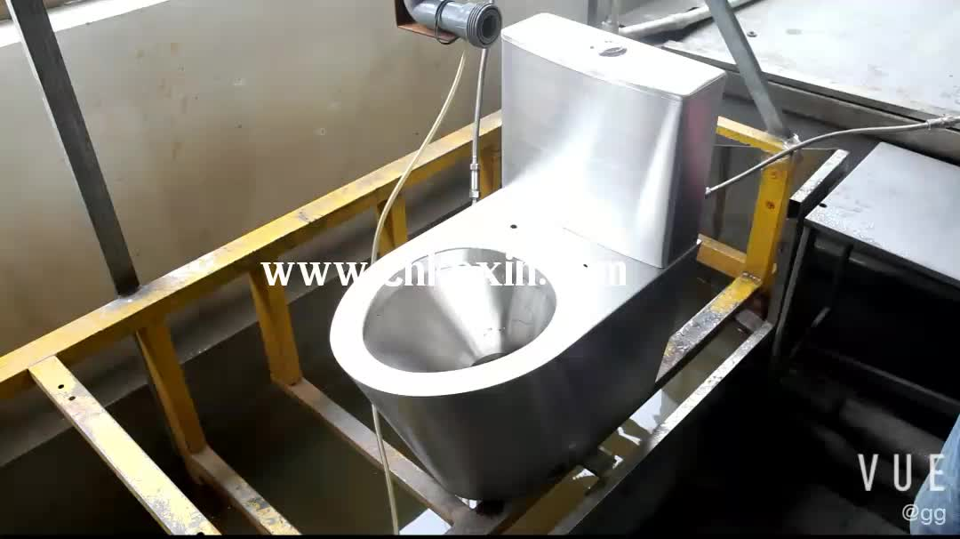 Best-selling Western toilet Stainless Steel One Piece WC Toilet