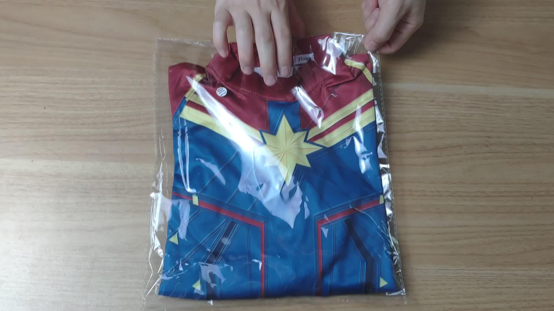 Endgame キャプテンマーベルコスチューム子供さん驚異キャロル Danvers ジャンプスーツ子供の量子ジャンプスーツ衣装女の子