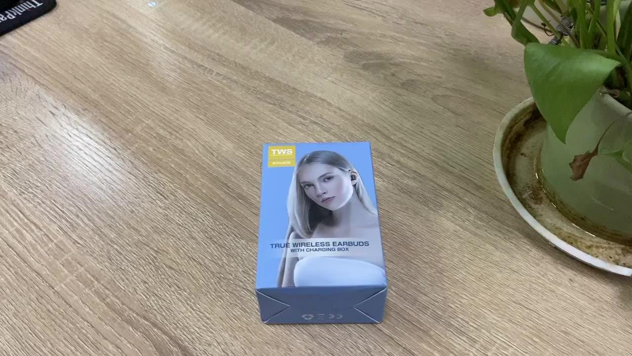 2021 vendita calda b5 tws auricolari senza fili in ear cuffia blutooth per samsung xiaomi huawei iphone