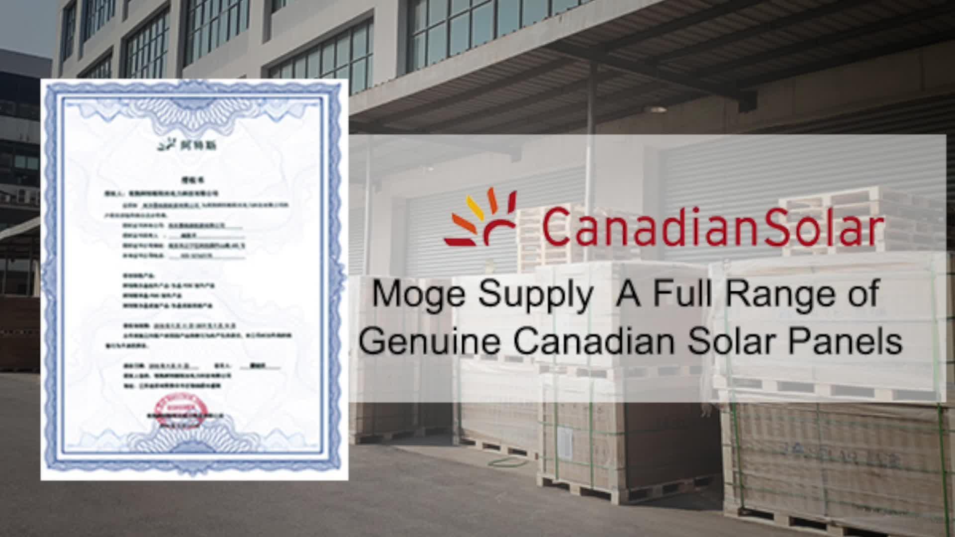 Canadese Zonnepanelen Distributeur Pv Zonnepaneel 370 W 365 W 360 W 400W 410W 420W 425W 430W 435W Voor Pv Zonnepaneel Systeem Thuis
