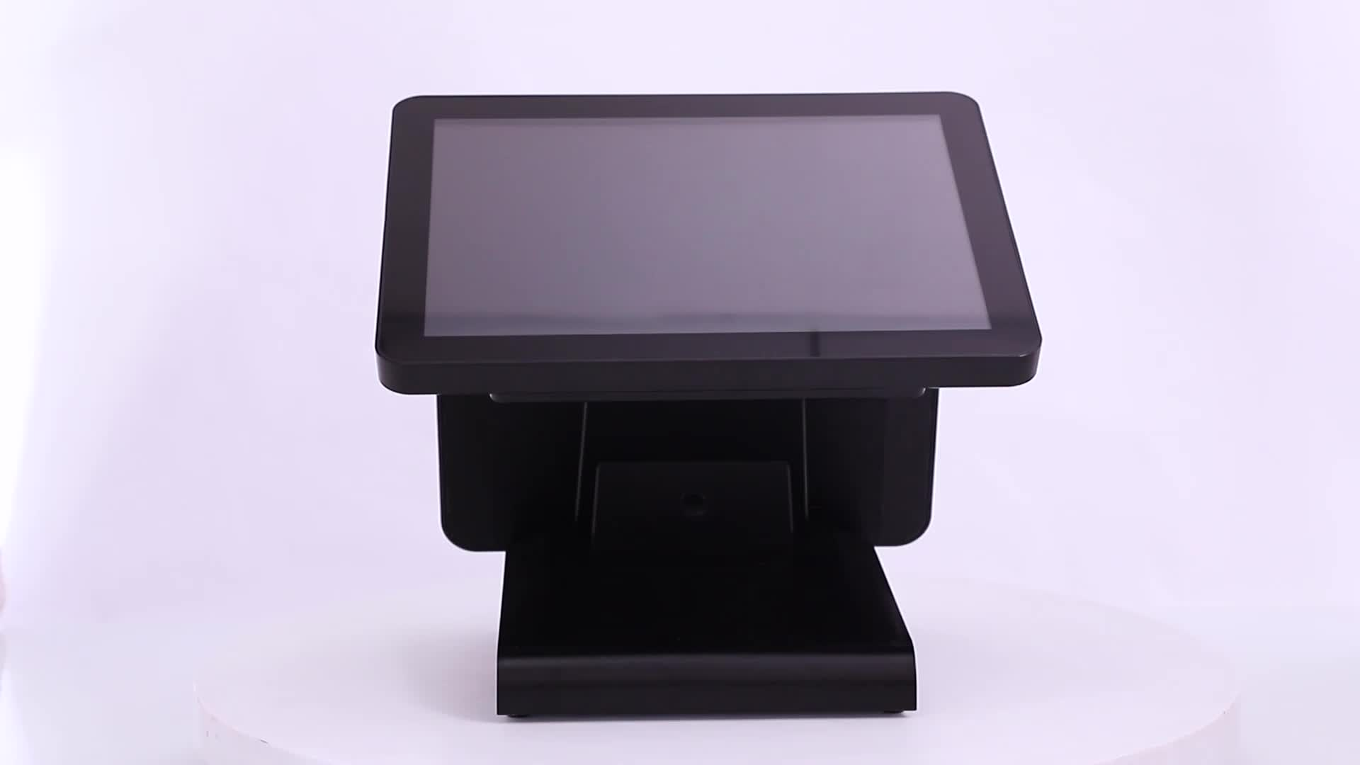 """15"""" restaurant equipment High Quality Cash Register For POS System"""