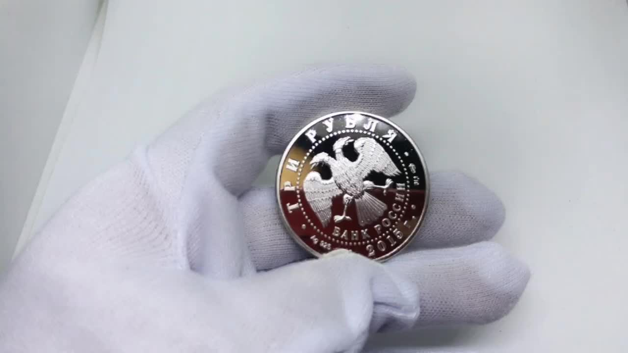 Commemorative challenge coins 999 silver customize coin for collection