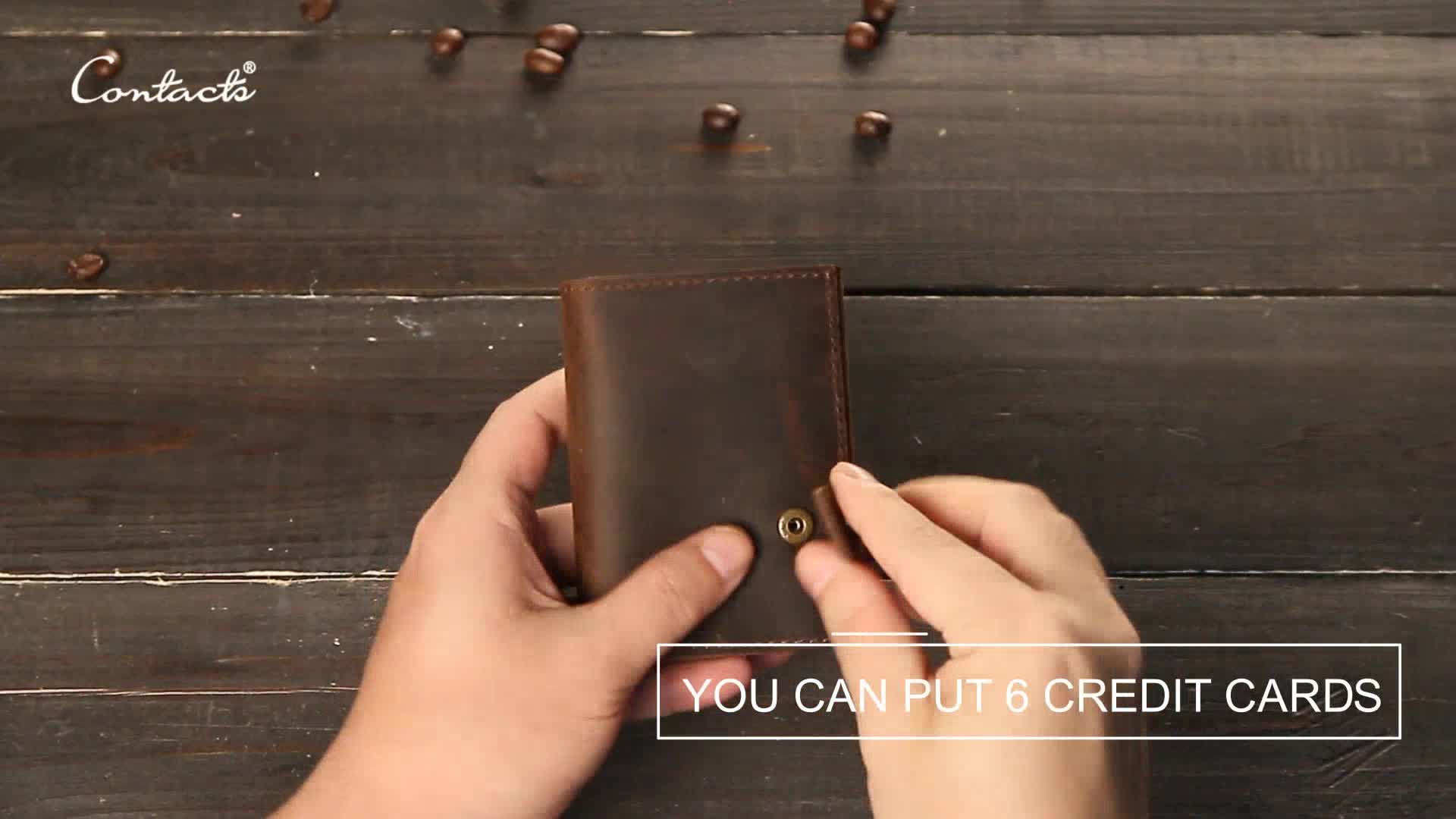 contact's amazon aliexpress dropship embossed custom rfid blocking aluminum case automatic pop up genuine leather id card holder