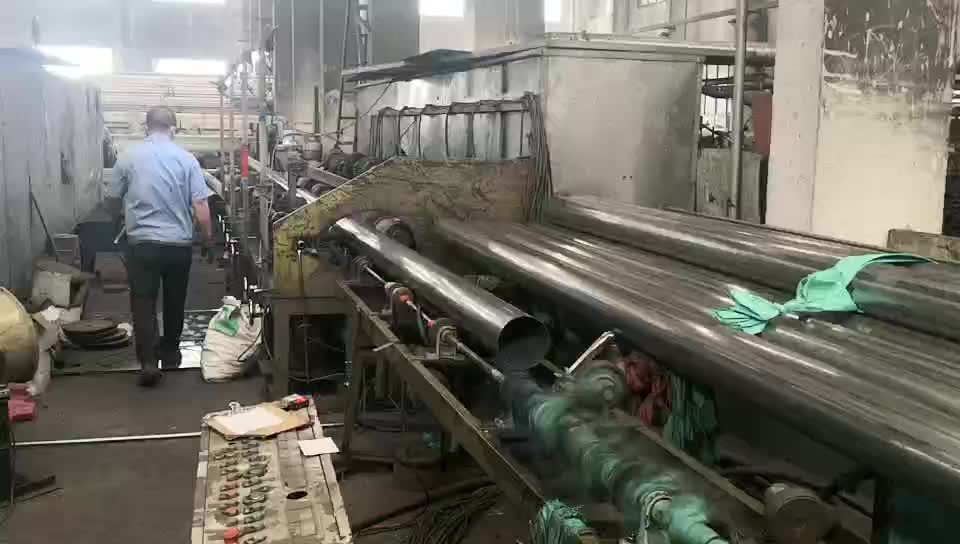 201 welded stainless steel  round pipe