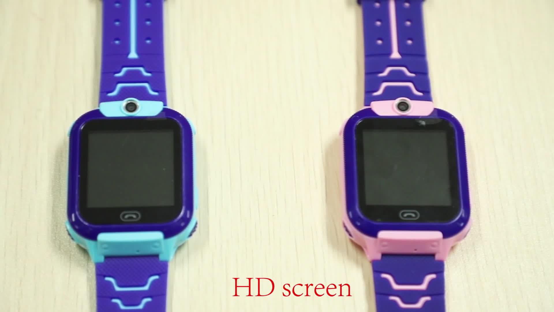 キッド腕時計 2020 安い子供 sos 緊急通話子供スマート時計トラッカースマートベビー子供のための