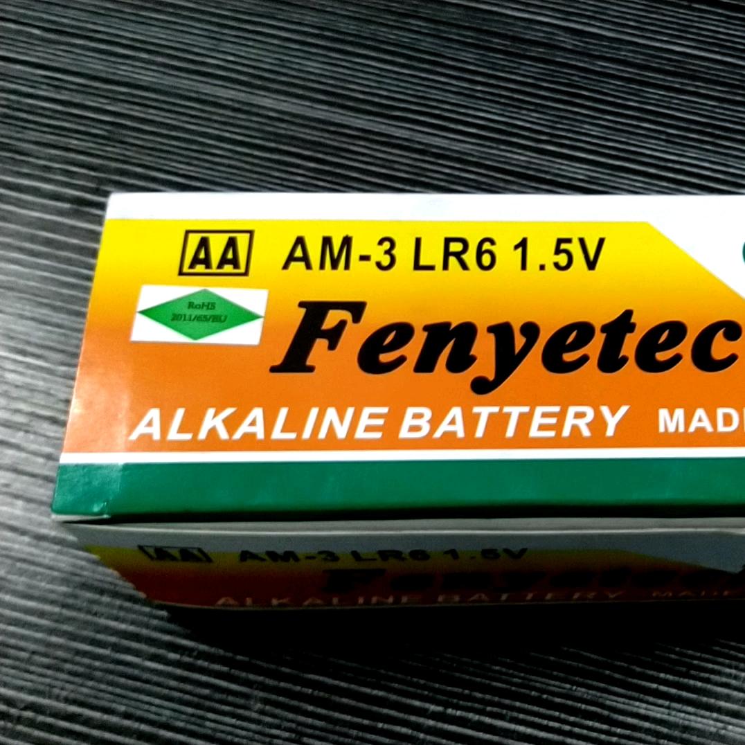 De alta calidad de celda seca tamaño aa de 1,5 v lr6 am3 Batería alcalina