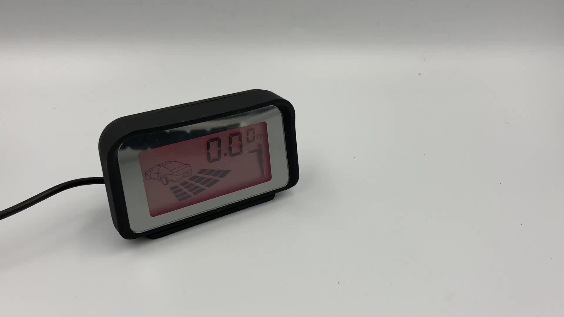 デジタルセンサーモニター toyata ための駐車場センサーアラーム