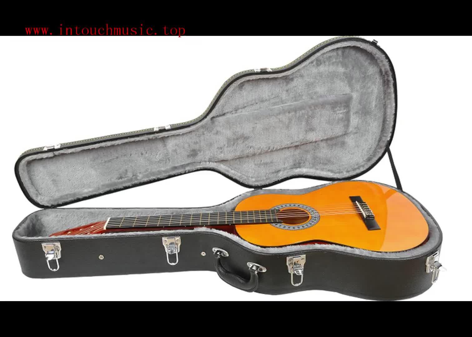 Commercio all'ingrosso Schiuma PU Cassa Della Chitarra Classica Basso Elettrico Cassa Della Gomma Piuma/Oxford gig bag chitarra Cina CFC701