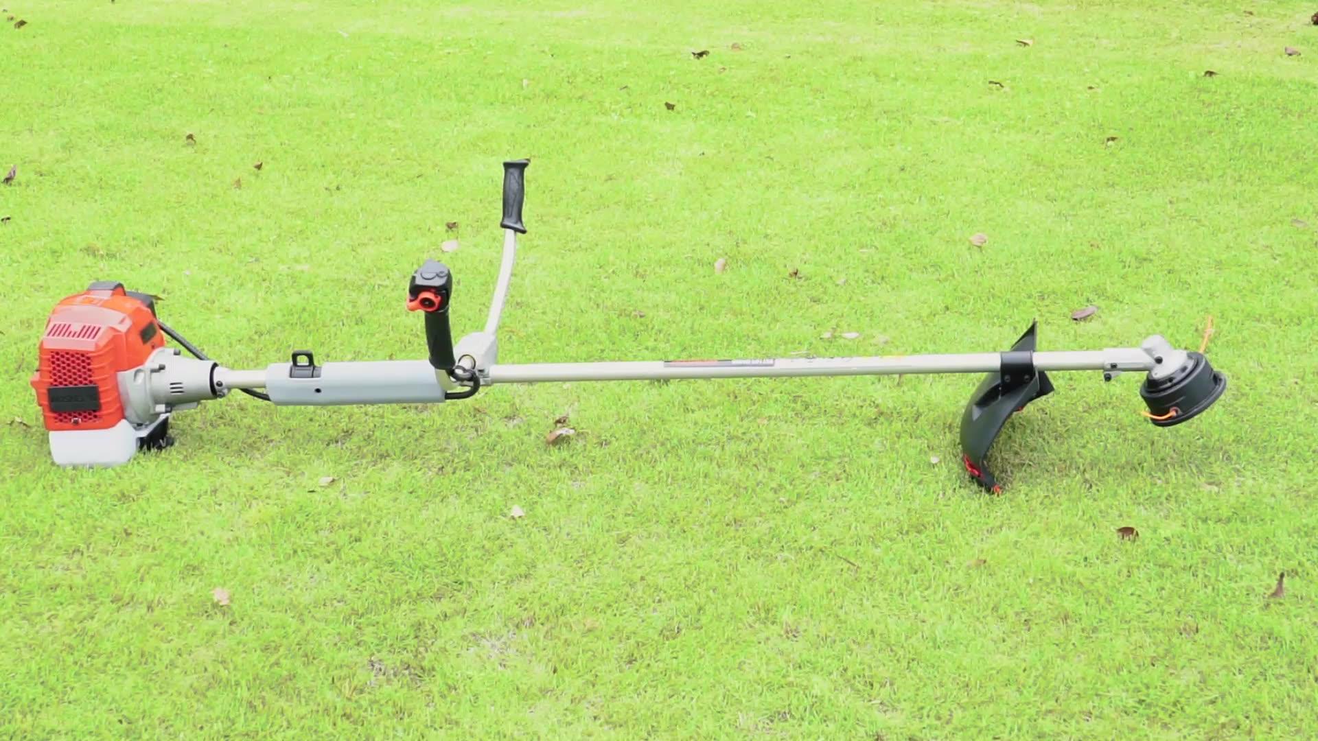 AOSHENG a benzina ad alte prestazioni lama decespugliatore 52cc decespugliatore a benzina erba trimmer