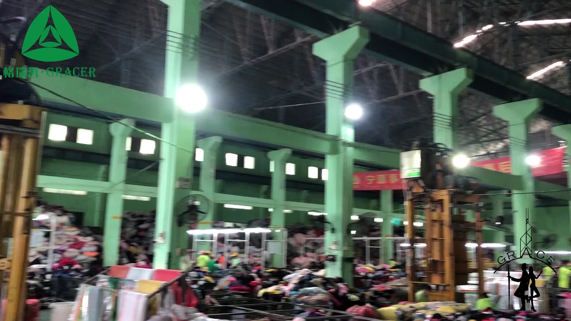 Hot sales in Ghana used clothing secondhand clothes in bale export