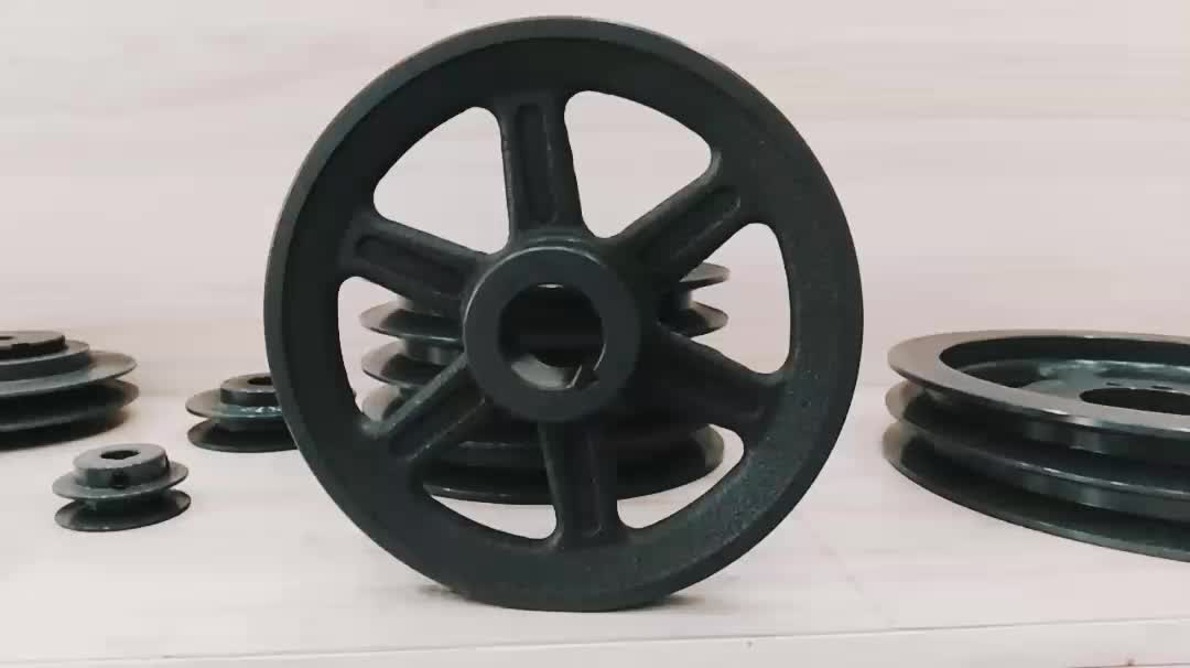 China top single groove grey cast iron pulley wheel BK series for American standard B belt