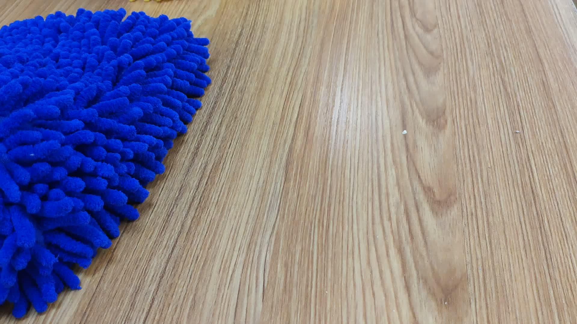 Khusus Microfiber Chenille Cuci Mobil Mitt/Microfiber Perawatan Mobil Sarung Tangan/Chenille Bersih Sarung Tangan Sarung Tangan