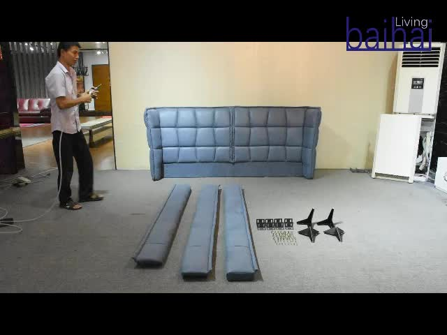 Home use luxury double bed furniture bed design queen size bed frame