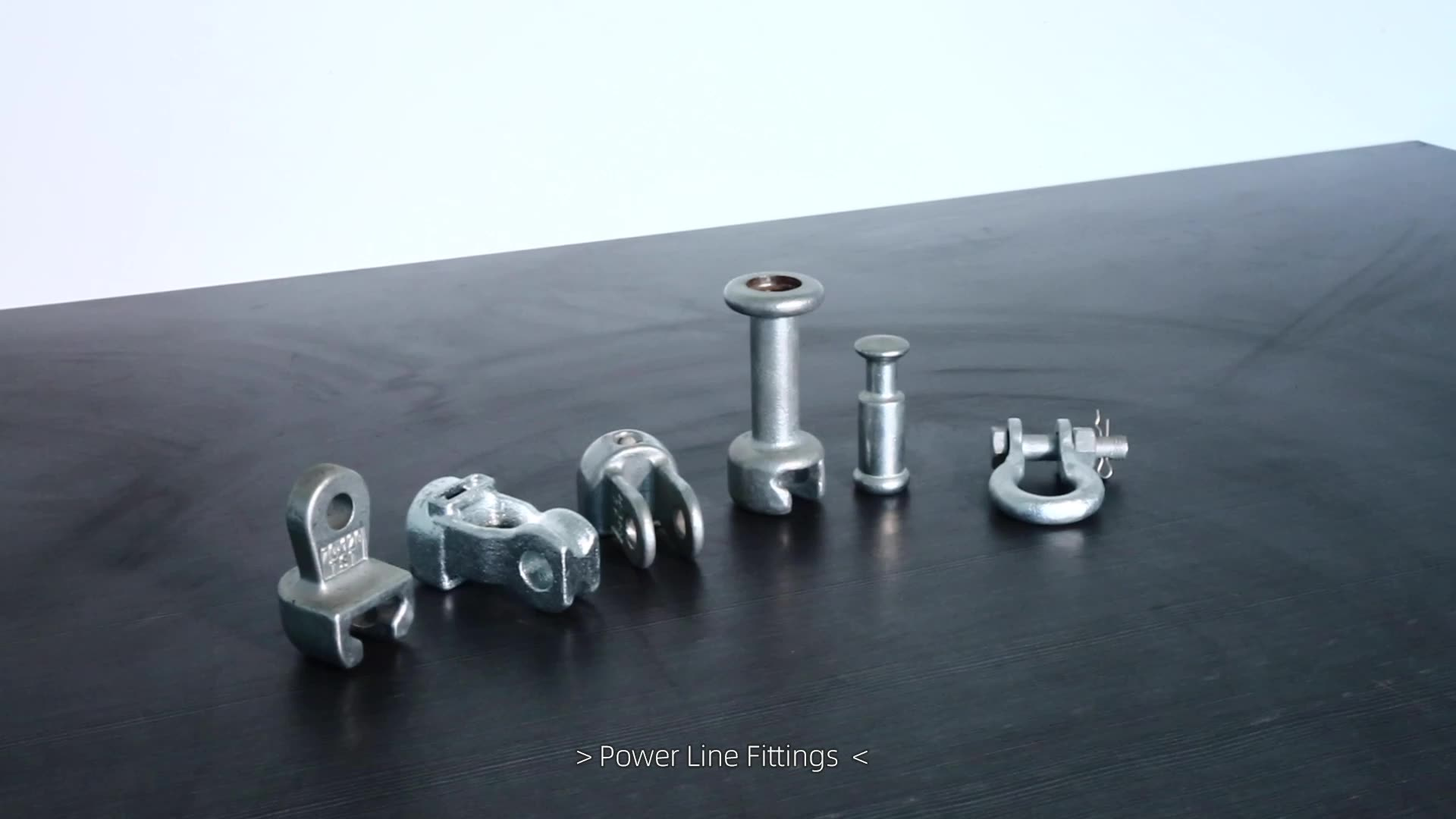 Composite Silicon rubber insulator tongue end clevis fitting