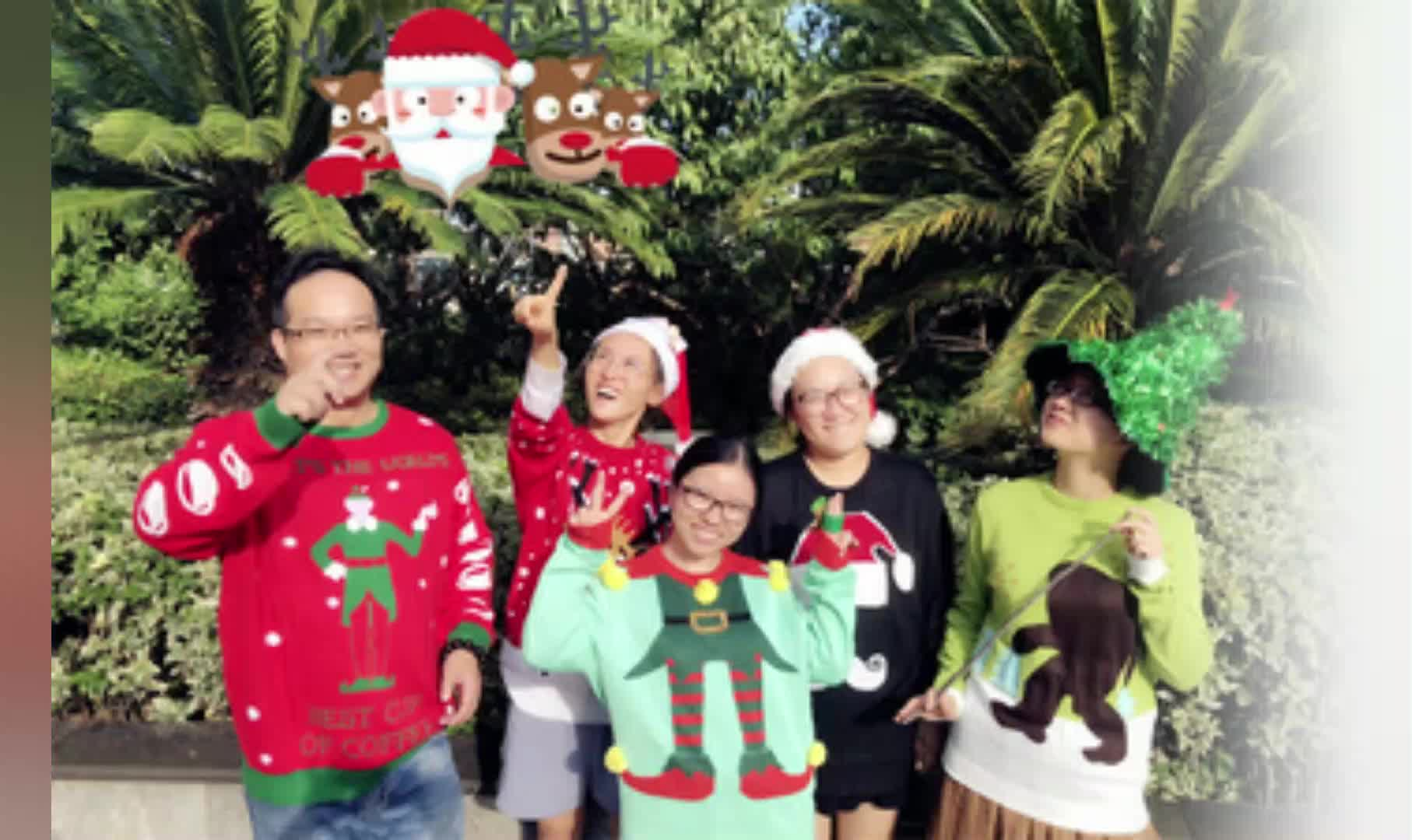 ユニセックス hotsale の格安プルオーバーセーター led ライト大人醜いセーターと木