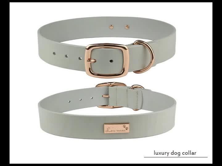 Supplies pet accessories wholesale design custom dog collar with logo