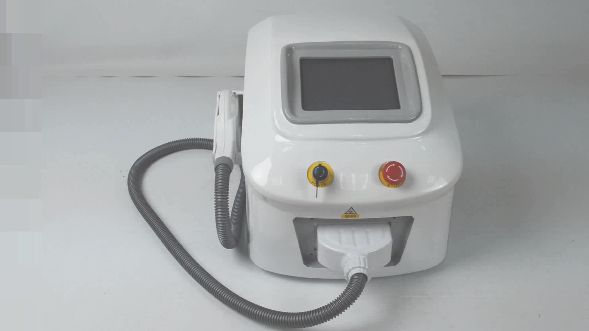 2019 neueste shr laser haar entfernung maschine A6 shr maschine