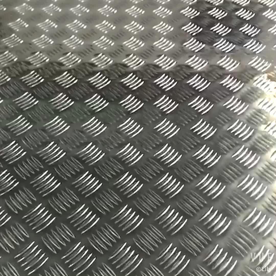 1xxx Series Decorative Coated Embossed Aluminum Sheet