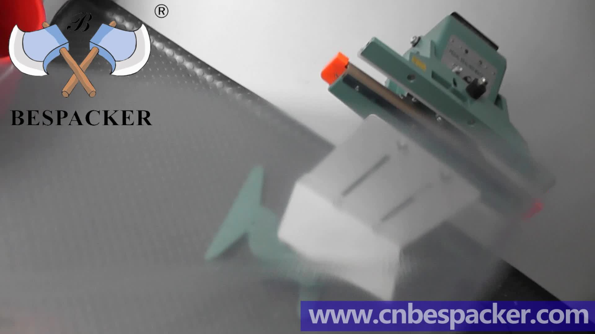 Bespacker PFS-350 Double seals type aluminum body foot sealer sealing machine for plastic bag