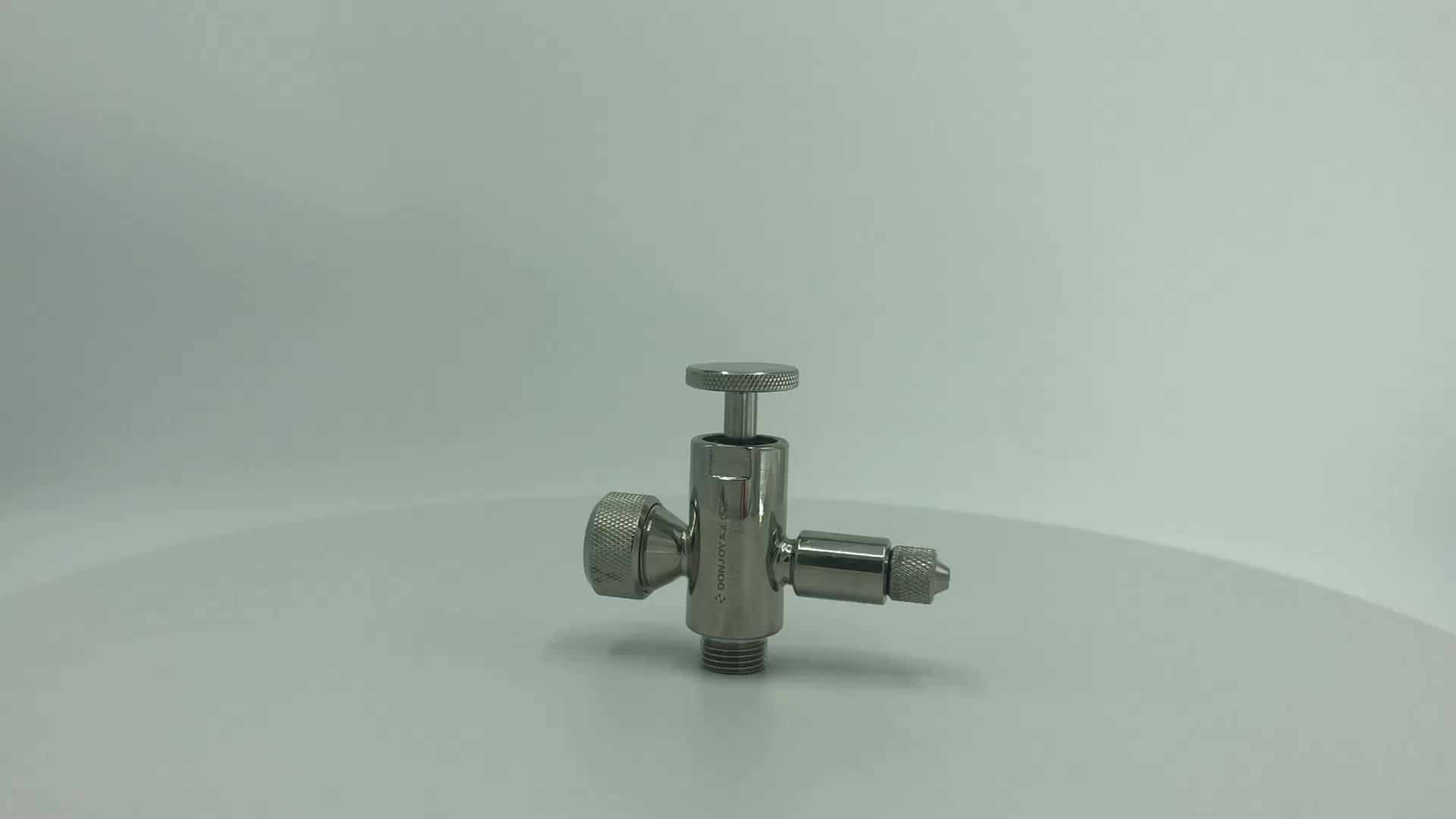 DONJOY sanitary Tank level gauge with sample valve