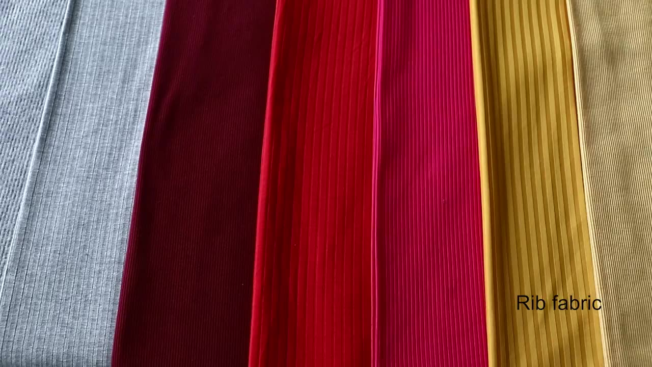 Best quality supplier online discount brushed japanese rib fabric wholesale store prices