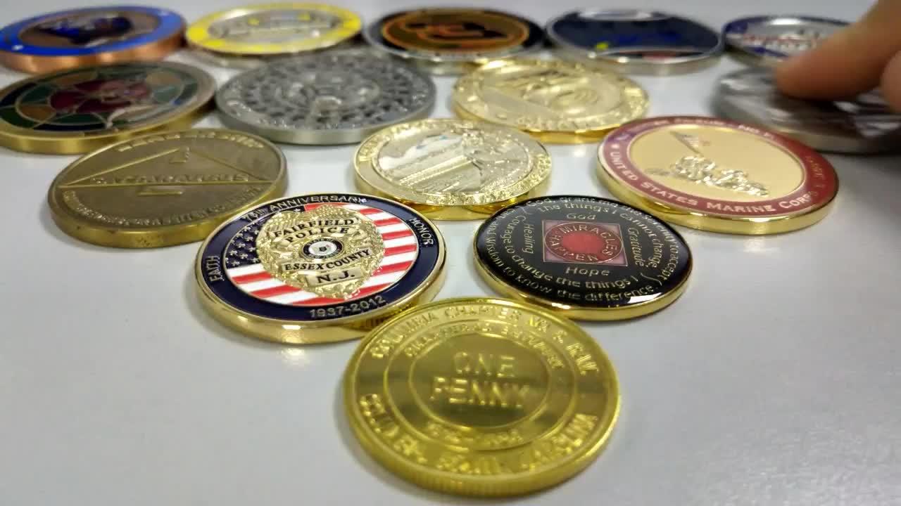 High Quality Custom Made Souvenir Metal Coin