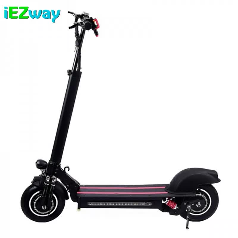 2020 iEZway Folding Single Motor 10 inch 48V 12AH 600w Scooter  Electric with seat in Germany warehouse