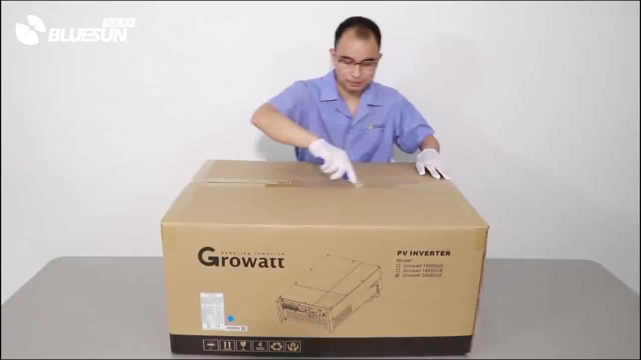 Growatt Grid Tie Inverter 5kw 8kw 9kw 10kw 12kw 3 Phase 380v Wholesale China