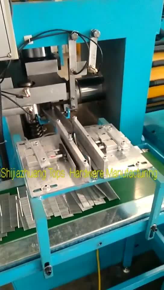 De alta calidad de fibra pin que hace la máquina