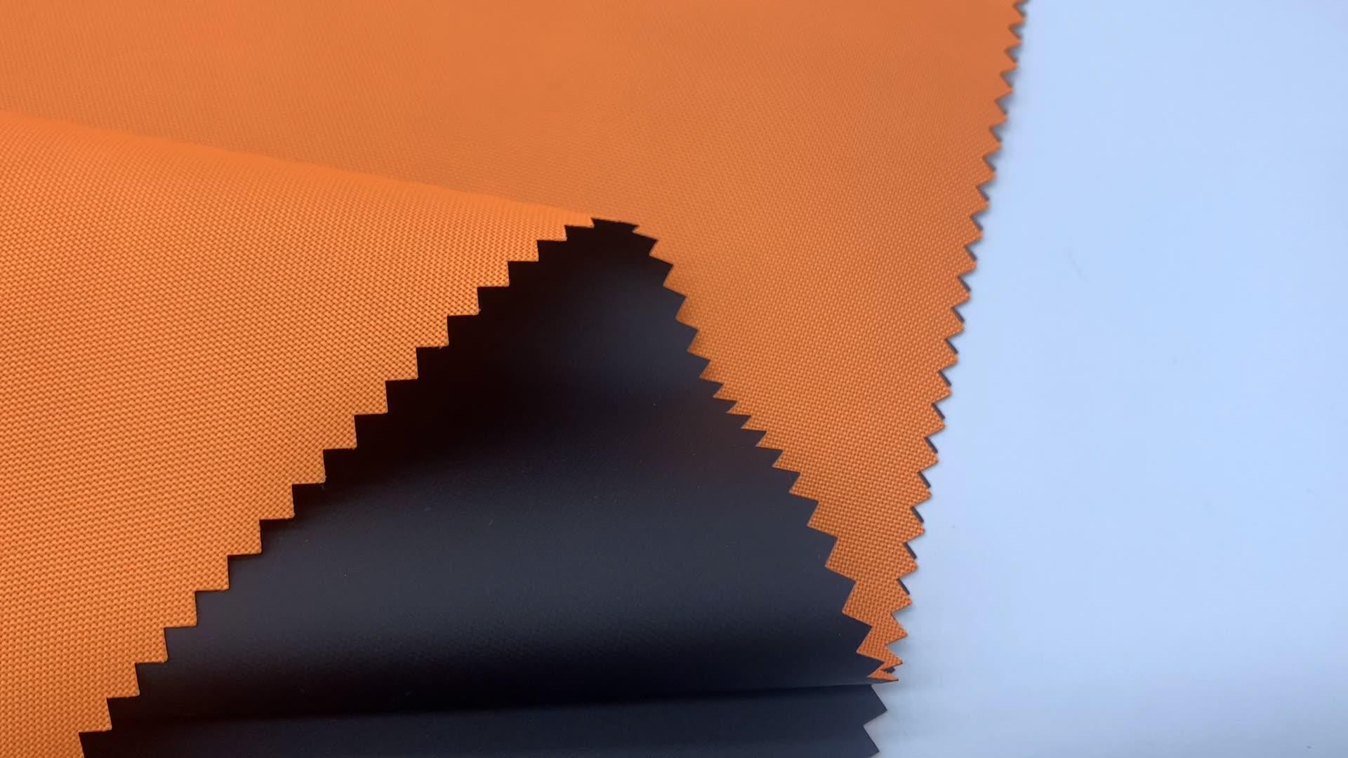 Heißer verkauf polyester oxford stoff pvc beschichtete gewebe für tasche