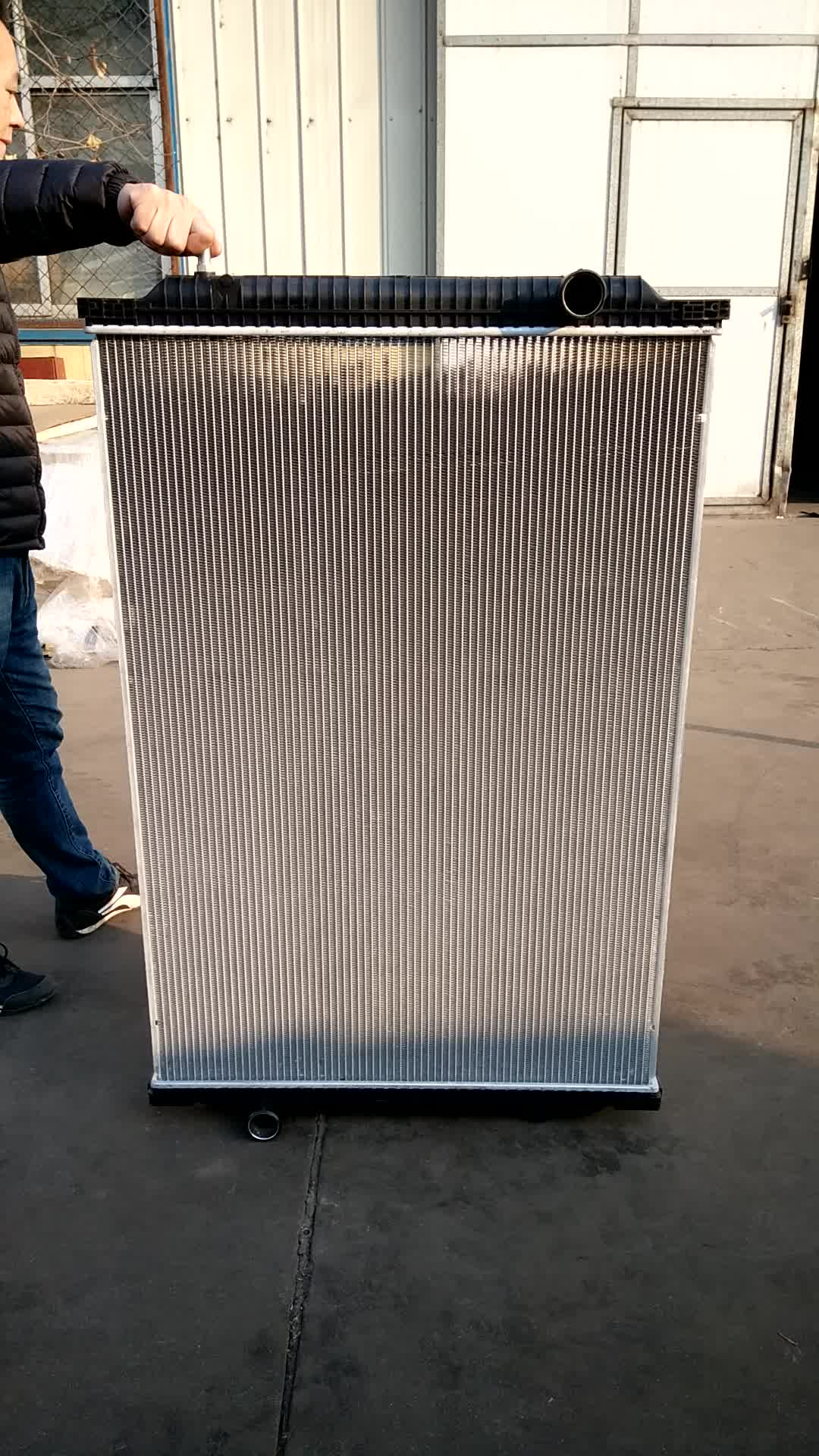 Aluminum HD Truck Radiator For Freightliner BHTD0635/BHT4761 Factory Directly Sale