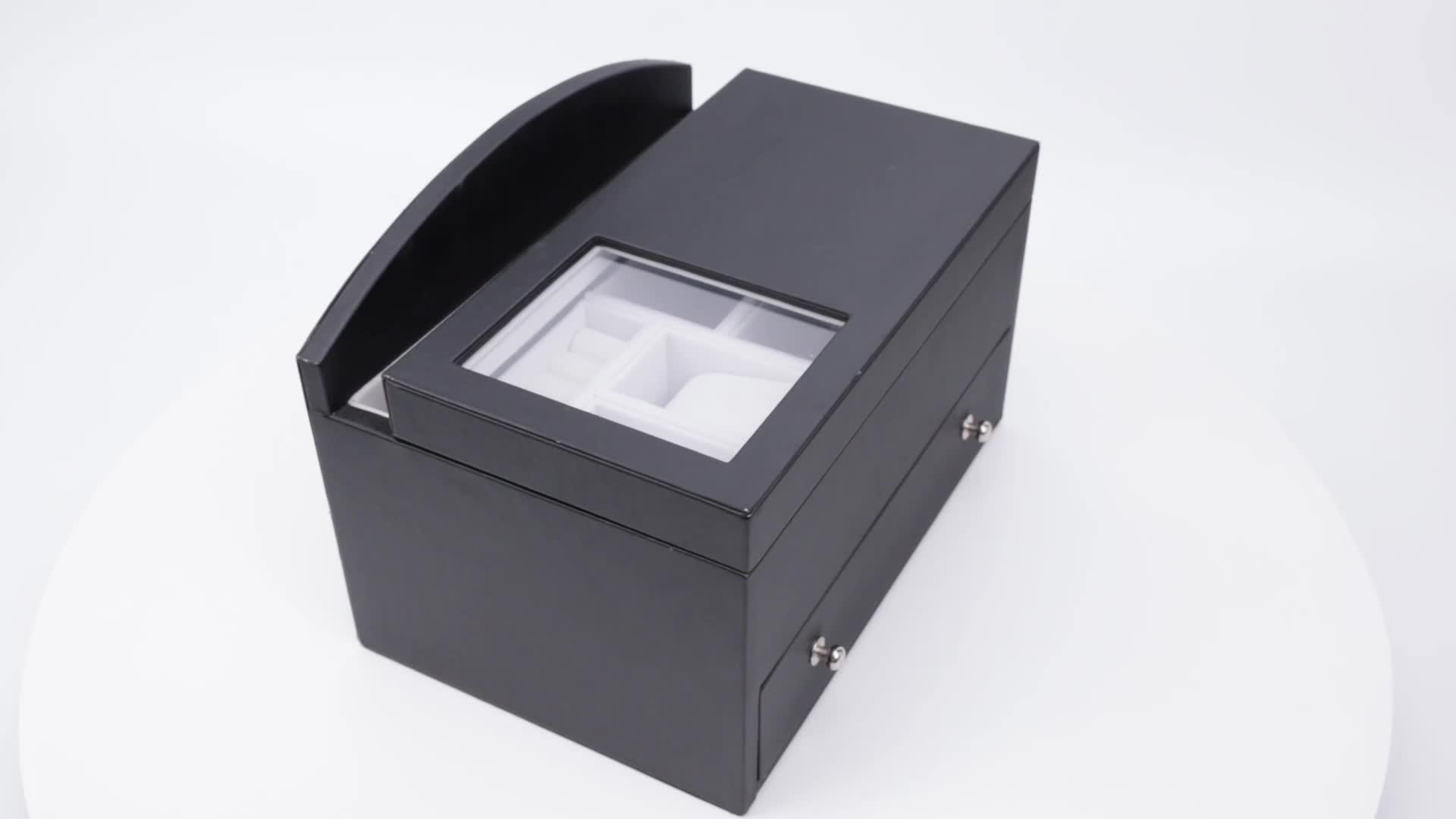 Manufacturer customized rectangle jewelry gift box recycled jewelry packaging jewelry trays and inserts for drawers