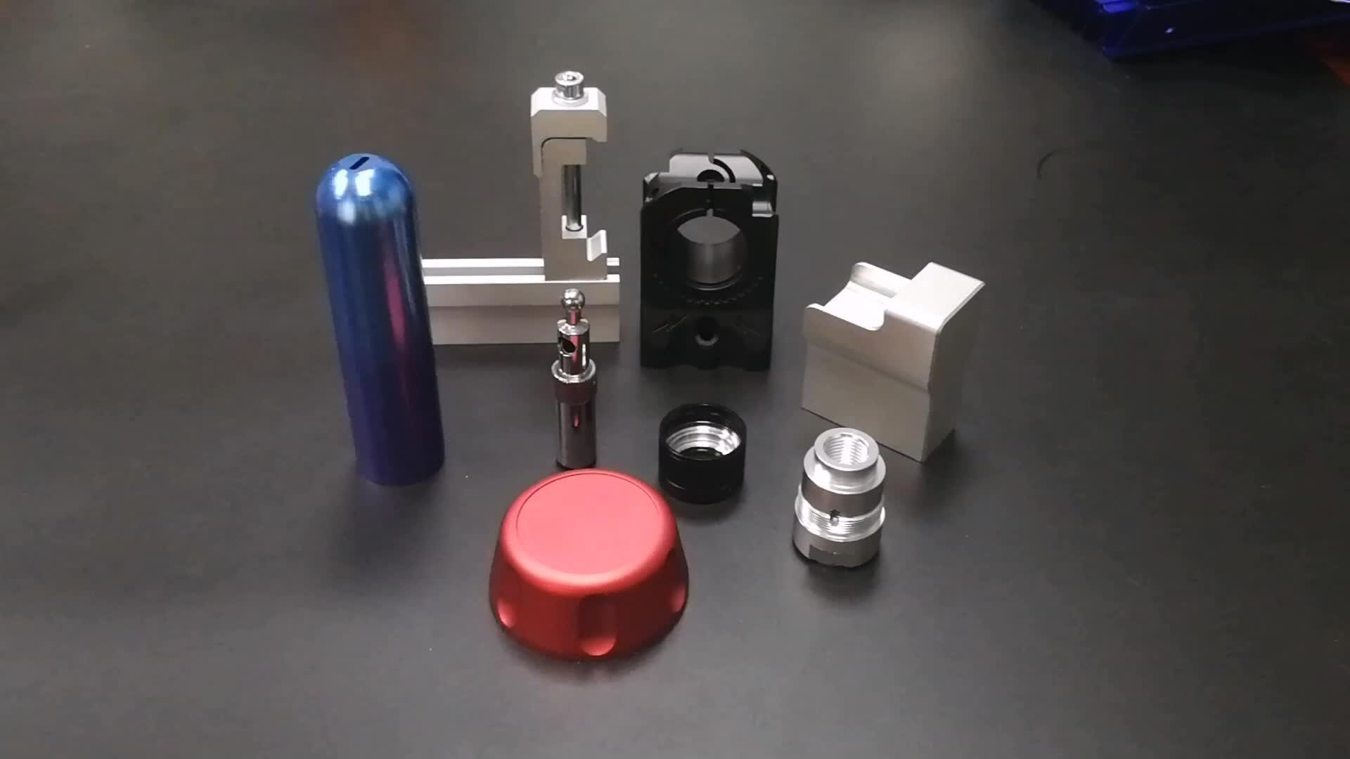 Metal parçaları CNC freze torna Özel edm işleme hizmetleri