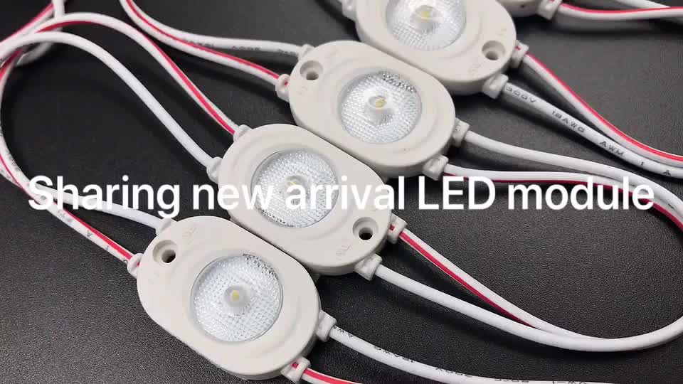 12 Volt 1 Watts Waterproof IP67 Injection Constant Current SMD 2835 ADS LED Module