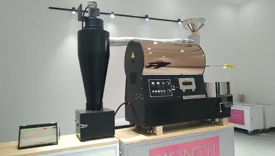 For sale luxury version BY 2kg coffee roasting machines 2kg cocoa beans drum roaster machine 2kg super coffee roaster