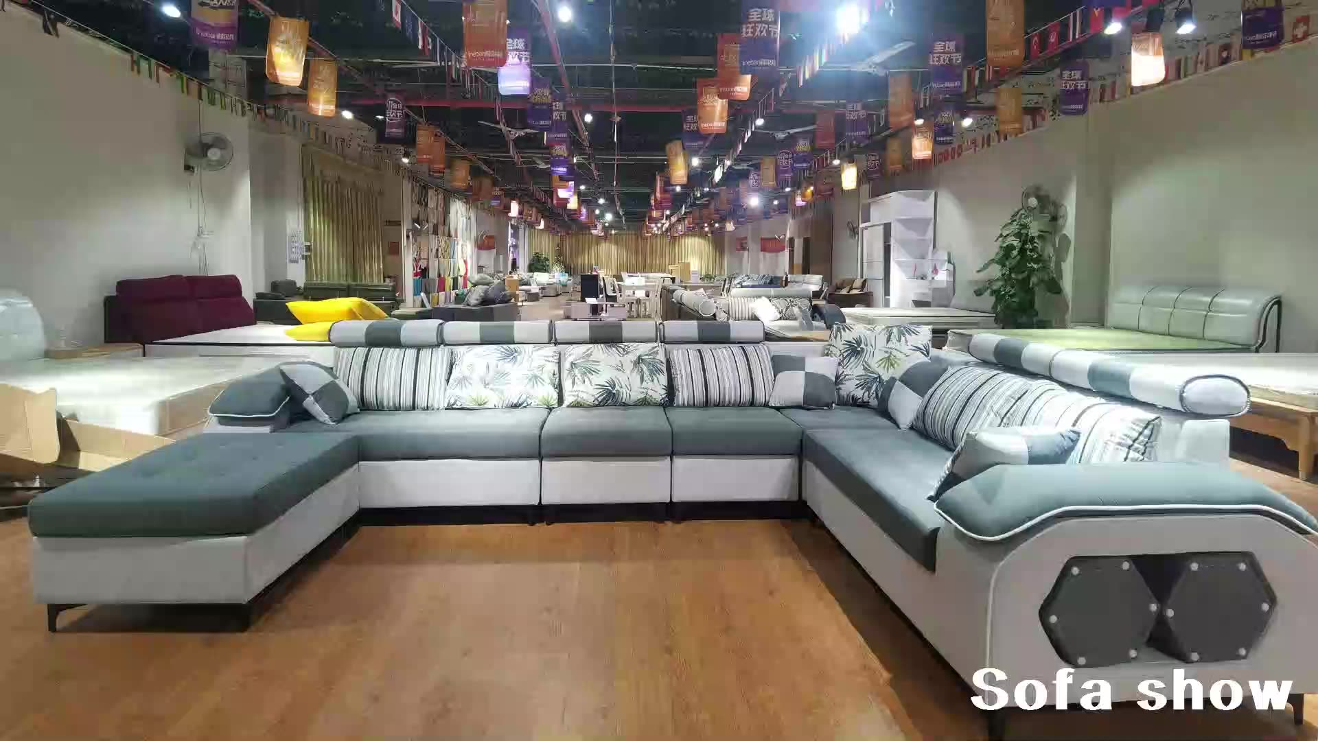 Furniture Factory Provided Living Room Sofas/Fabric Sofa Bed Royal Sofa set 7 seater living room Furniture designs