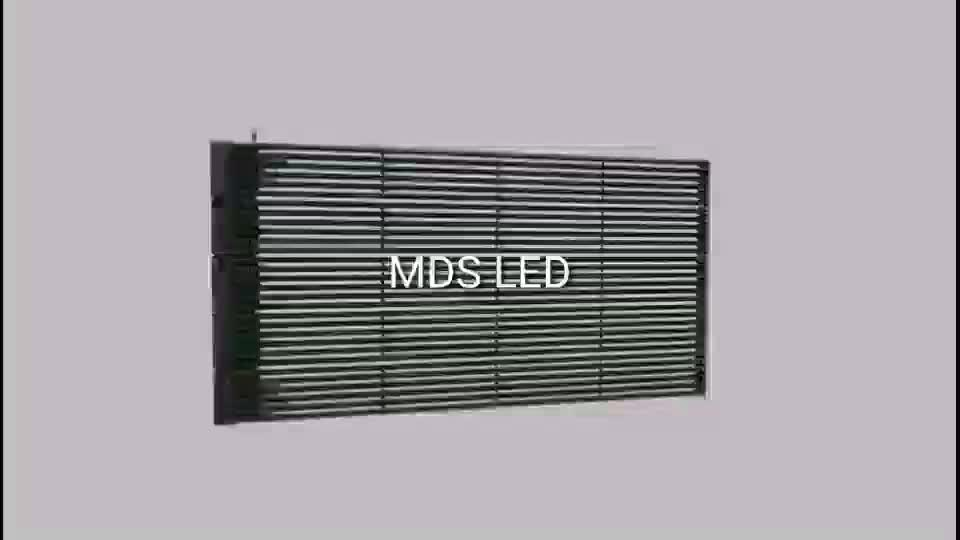 Ultra thin 투명 커튼 나 strip led display 스크린 P8 풀 색 smd 야외 광고 mesh led display