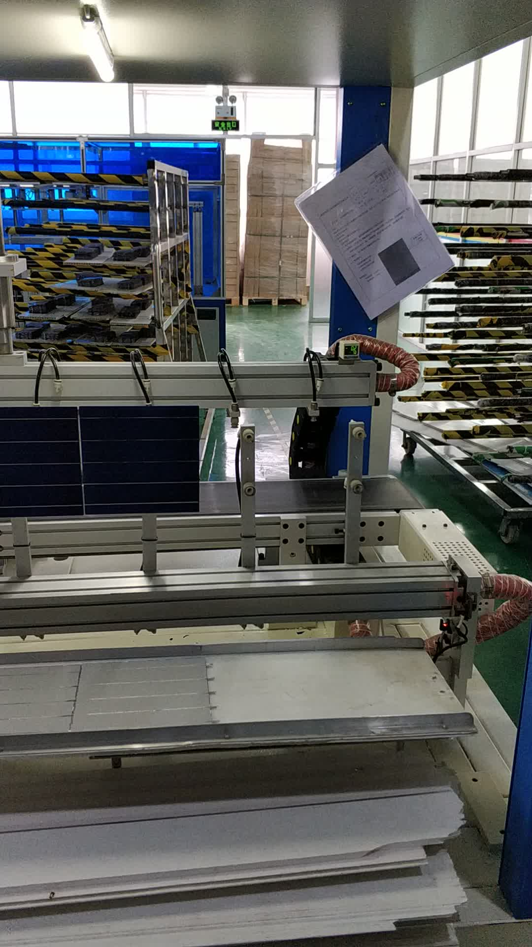 330W PV panel for solar power system