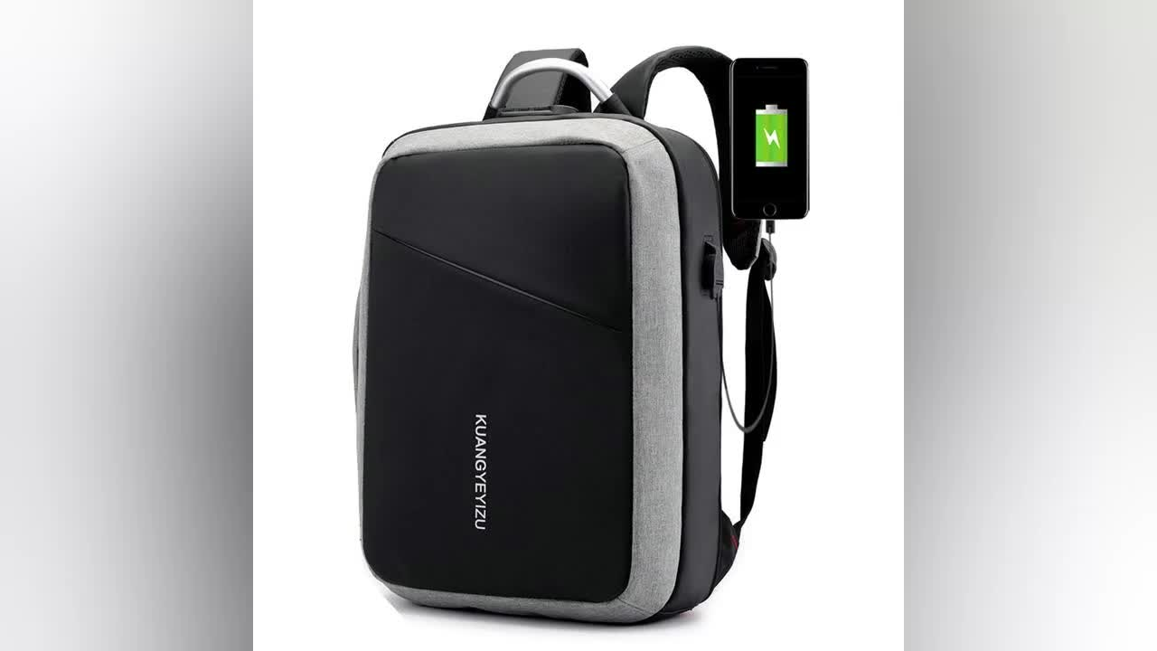 Smart USB Charging Computer Bag Anti theft men backpack bag Waterproof Laptop backpack 15.6