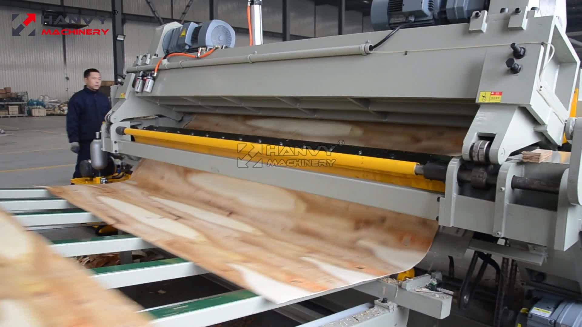 Impiallacciatura di legno Peeling Linea di Produzione per La Produzione di Compensato