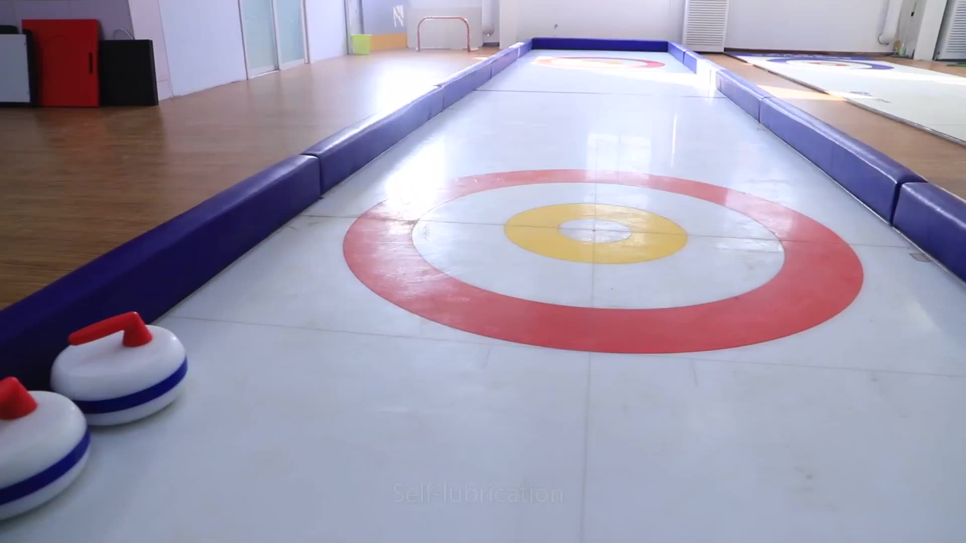 Wear resistant Synthetic Ice Rink dasher board system
