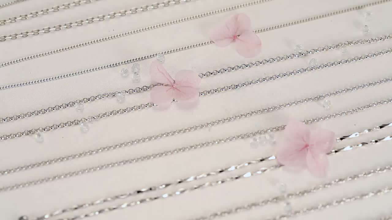Цепочка из стерлингового серебра 925 пробы, ювелирное ожерелье