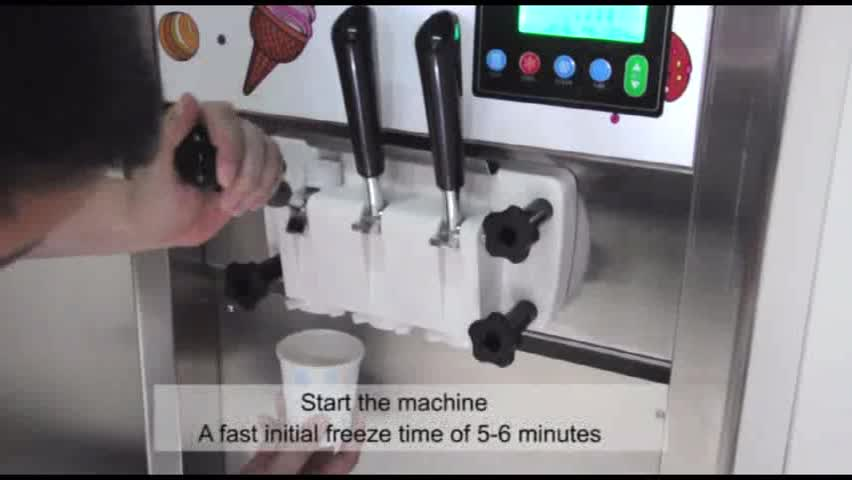 Commercial Table Top McDonald's Soft Serve Ice Cream Machine Maker for Sale