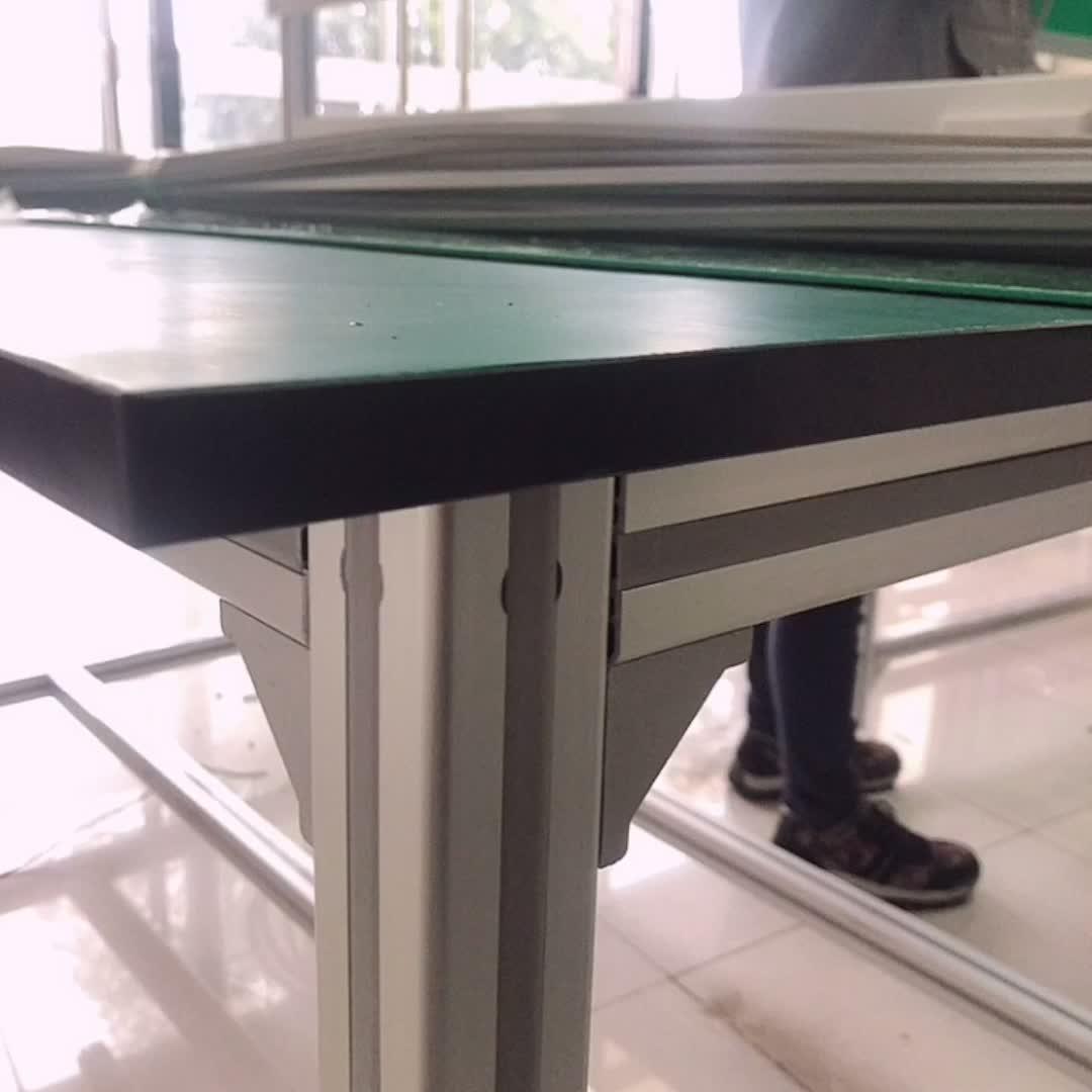 Faible minimum facile à utiliser 6000 série alliage plaque en aluminium profil pour le système d'inspection industriel d'établi