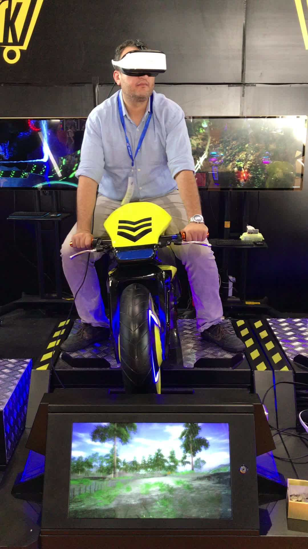 Fastest And Furious VR Simulator Moto Ride Motorcycle VR Simulator