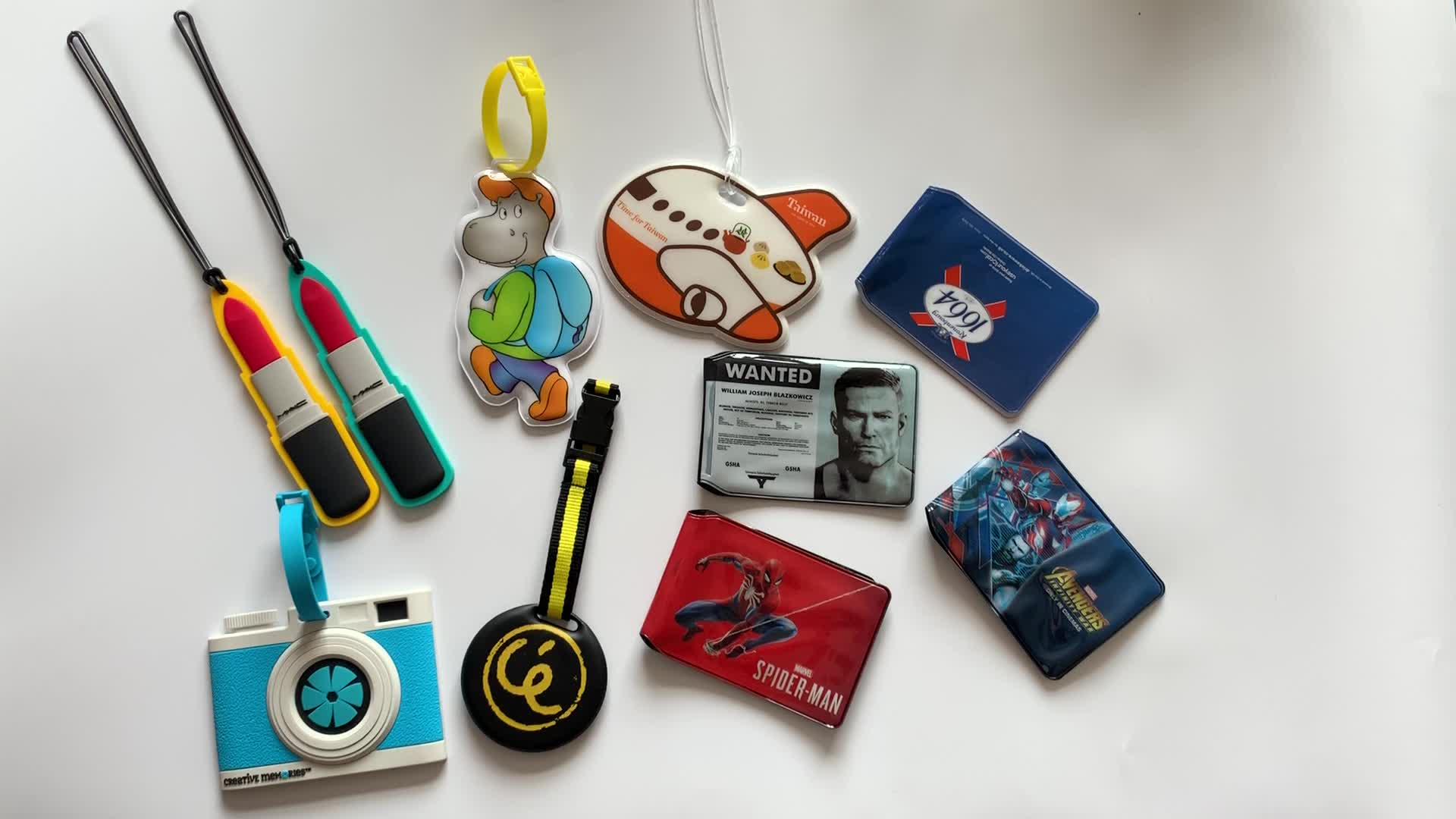 Pvc Id-kaart Houder Clear Soft Plastic Id Card Houders/Print Goedkope Pvc Id Kaarthouder