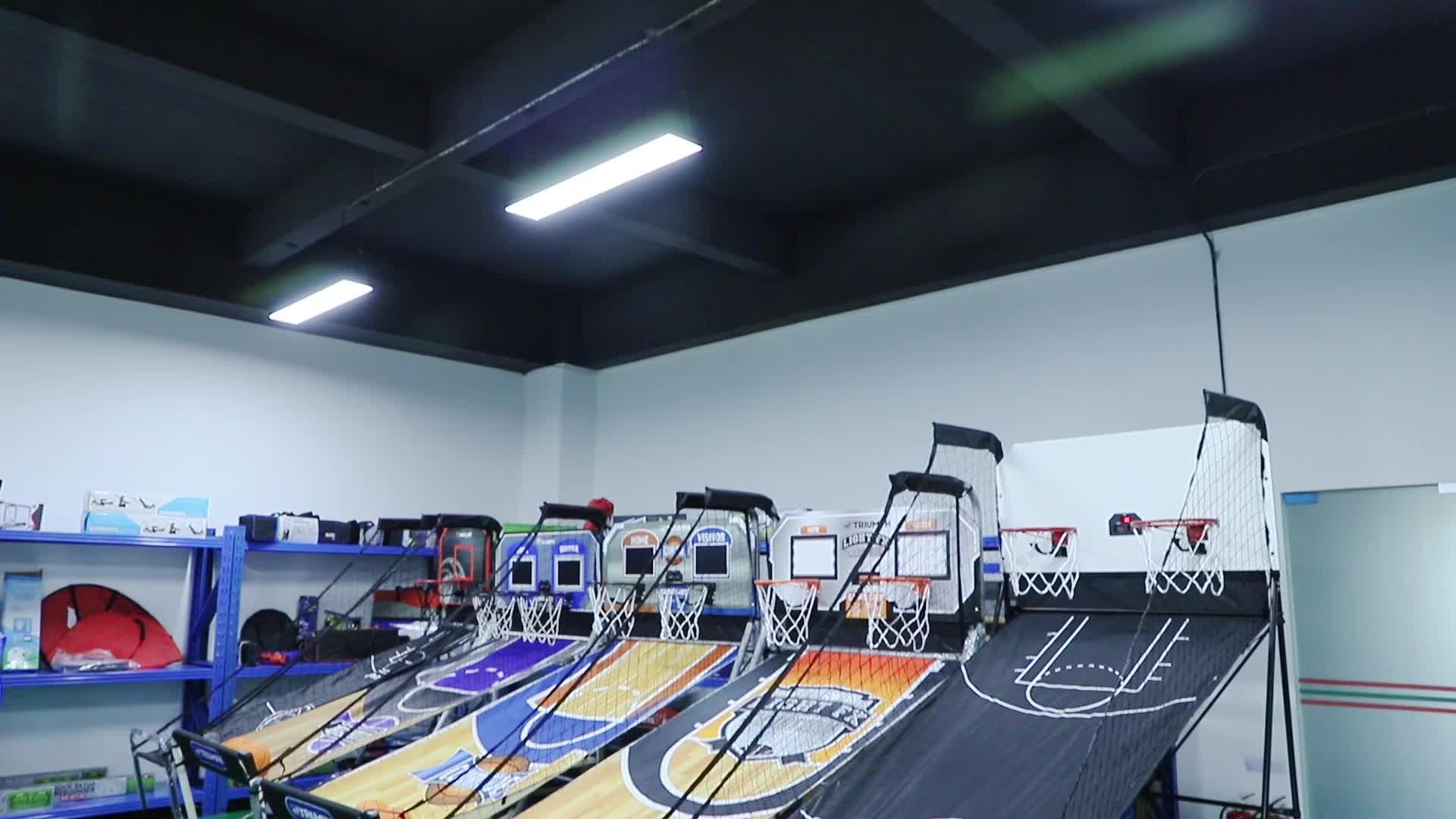 Pabrik Yang Dapat Diandalkan Pasokan Langsung Basket Hiburan Mesin Menembak Pelatihan