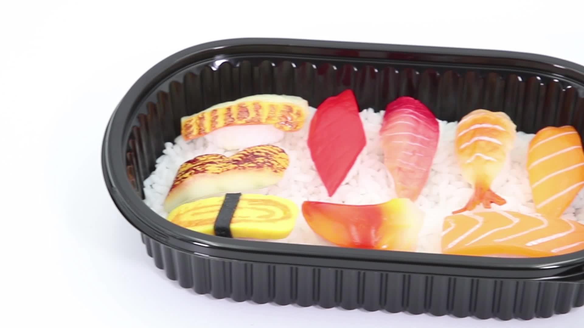 BPA-frei 750ml zum Mitnehmen Einweg-Plastik-PP-Lunchbox-Lebensmittelbehälter