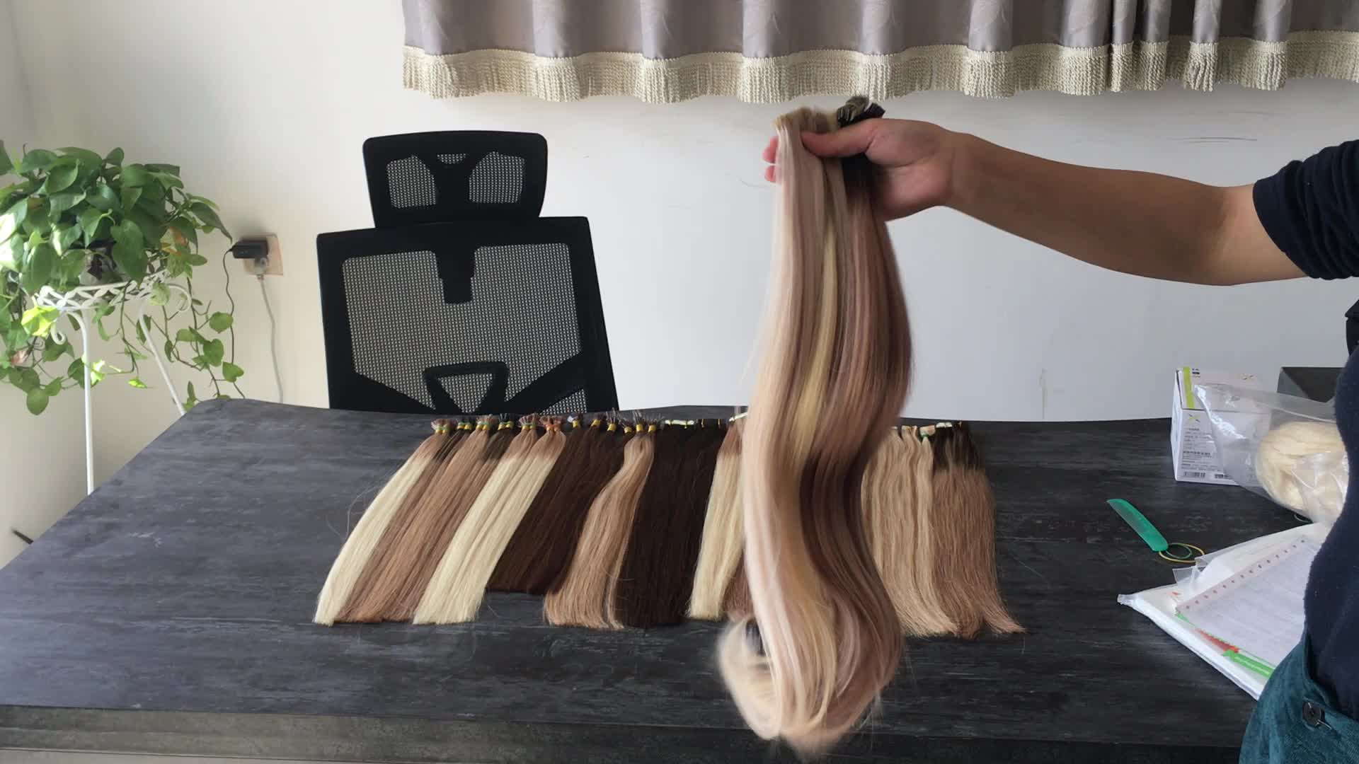 High quality hand tied remy human hair seamless Invisible skin weft tape in extensions